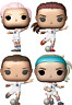 USWNT Soccer Football Set of 4 Funko Pop Vinyls New in Mint Boxes