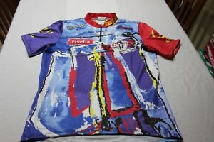 Maillot Of Cycling Antique Rivella of The Size M Very Cotizado And Scarce