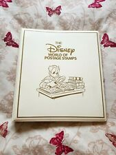 The Disney World Of Postage Stamps Album