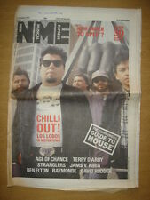 NME 1987 OCT 17 LOS LOBOS NEW ORDER AGE OF CHANCE ABBA