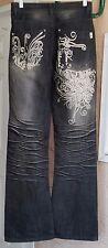 Women's Vintage Flare Jeans FLU Size 26 X 33.