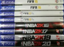 Playstation 4: Sports Bundle x8 Game Bundle - Preowned - Fast Dispatch