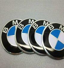 4x BMW Self Adhesive Wheel Centre Cap Hub Caps Sticker Logo Emblem Badge 56mm