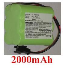 Batterie 2000mAh type HR-3UTGA MA-1 MA-2 MA-3Pour Tivoli PAL+