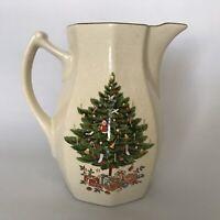Christmas Holiday Season Beverage Pitcher Tea Japan Nova Studio Tree Santa Star