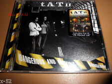 TATU Dangerous and Moving CD All About Us Friend or Foe Gomenasai Cosmos t.A.T.u