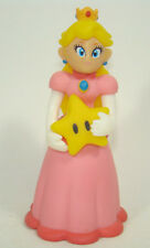 Super Mario Brothers Princess Peach with star Plastic Toy 12CM