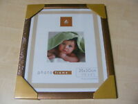 COPPER EFFECT WOOD / WOODEN PHOTO FRAME - 10x12 / 12x10 INCH (25x30 CM)