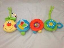 Brand New First Steps Soft Caterpillar, Available in Blue or Pink, 6 months +