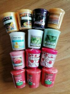 Yankee Candle - Mixed Set of 13 Votive Candles.