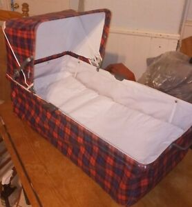 Vintage 1950s or 1960's Baby Car Bed Bassinet