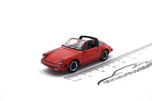 #452656400 - Schuco Porsche 911 Carrera 3.2 Targa - rot (26564) - 1:87