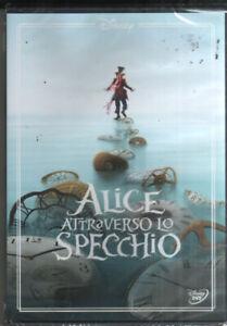 ALICE ATTRAVERSO LO SPECCHIO Di James Bobin DVD NUOVO