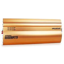 Auna Goldhammer Amplificatore Auto 5 Canali 6600W Oro Super Bass Ponticellabile