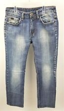 Buffalo David Bitton Randy Distressed Straight Leg Jeans Size 30x30 Grunge