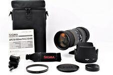 【MINT in Case】Sigma EX 50-500mm F/4-6.3 APO DG HSM Lens for Nikon F Japan #419