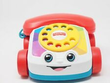 Fischer Price 2015 Colorful Telephone On Wheels Fun Eyes