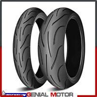 Michelin Pilot Power 1207017 1805517 Gomme Moto Pneumatici Radiali DOT 2019