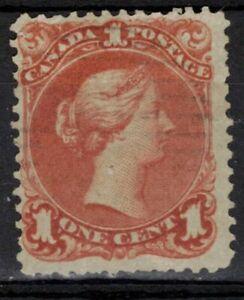 CANADA Scott 22b Used ## 1 cent start ##