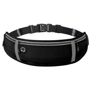 Fanny Pack 3 Pockets Quick Release Buckle Travel Sport Waist Running Waist Belt