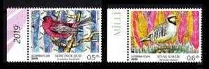 Azerbaijan 2019 * EUROPA CEPT * National Birds * 2 stamps * MNH