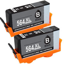 2BK HP564XL Ink Cartridge for HP Photosmart 6510 6520 7510 7515 7520 5520 5510