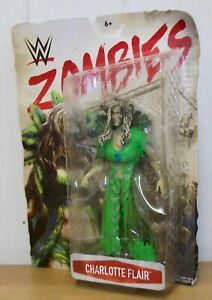 WWE - Charlotte Flair - Mattel Zombies - wrestling figure