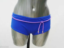 Polyamide Patternless Bikini Bottoms Swimwear for Women