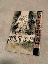 Signed Promo Brochure Depeche Mode Ultra 1997