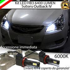 KIT FULL LED SUBARU OUTBACK 4 IV ABBAGLIANTI LED HB3 9006 6000K 100% NO ERROR