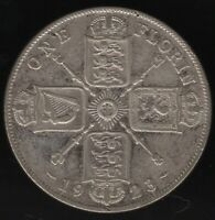 1923 George V Silver Florin | British Coins | Pennies2Pounds