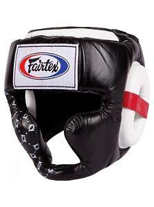 FAIRTEX Kopfschutz HG10  Super Sparring schwarz