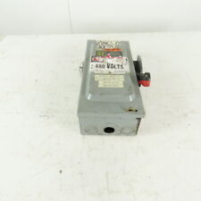 Square D Hu361 30a 600v Acdc Non Fused Safety Disconnect Switch