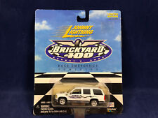 Johnny Lightning Brickyard 400 Emergency Vehicles Official Race Chevy Suburban