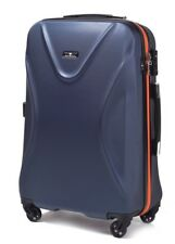 Reisekoffer Carbon ABS 518 L Zahlenschloss TSA  Reisetasche 360° 76L stark