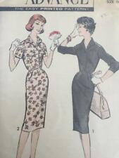 Advance Sewing Pattern 9010 Misses Ladies One Piece Dress Size 16 FF Vintage