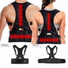 New Posture Corrector Clavicle Support Back Shoulder Belt Therapy Pain Relief UK