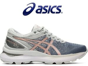 New asics Women's Running Shoes GEL-NIMBUS22 KNIT 1012A678 Freeshipping!!