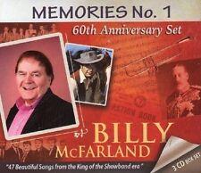 BILLY McFARLAND MEMORIES - THE 60th ANNIVERSARY BOX SET (3CD)