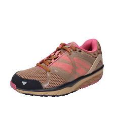 scarpe donna MBT LE ASHA 37 EU sneakers marrone tessuto dynamic BX894-37