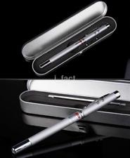 Useful 4 in 1 Laser Pointer Pen Telescopic Ballpoint Pen for Presentation CA