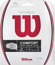 Wilson Optimus 16 tennis string Silver - Gut-Like Multifilament - Rg $16