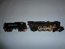 American Flyer #315 4-6-2 PRR Steam Locomotive & Tender. Runs and Smokes Well