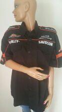 Chemise Chemisette Harley Davidson Taille XXL Brodée Devant & Dos