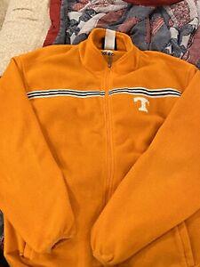 Mens ADIDAS Tennessee Vols Fleece Lined Full Zip Jacket W/ Pockets Size XL L@@K