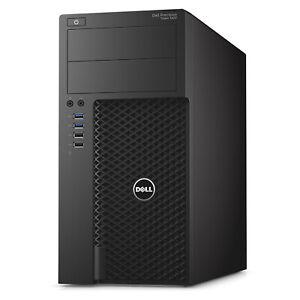Dell Precision 3620 Workstation i7-6700 16GB DDR4 RAM 256GB SSD & 2TB HDD Win10