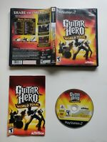 Guitar Hero World Tour (Sony PlayStation 2, 2008) PS2 CIB Free Shipping!