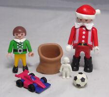 Playmobil Nicolás Santa Santa Claus secreto saco regalos auto fútbol muñeca #5
