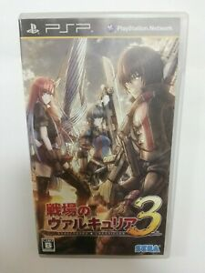 Valkyria Chronicles III 3 PSP SEGA Sony PlayStation portable Japan