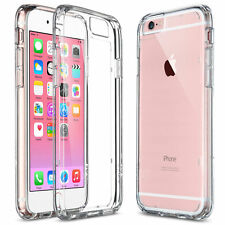 CLEAR SLIM Shockproof Bumper TPU Case Cover for Apple iPhone 6 6S Plus